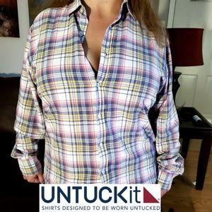 Untuckit casual dress shirt